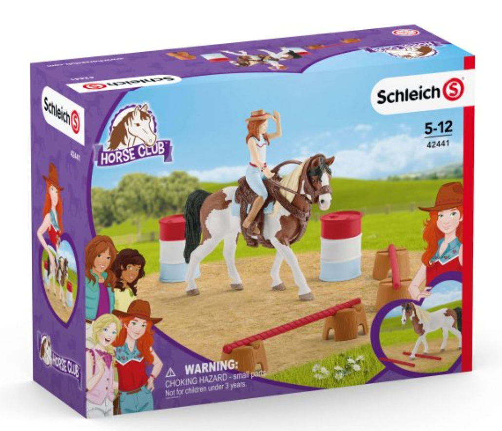 Horse Club Hannah's Western Riding Set - Schleich