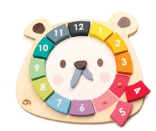 Bear Colors Clock - Tender Leaf Toys