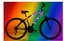 Rainbow Cosmic - Brightz (Bike Lights)