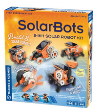 Solar Bots: 8 in 1 Solar Robot - Thames and Kosmos
