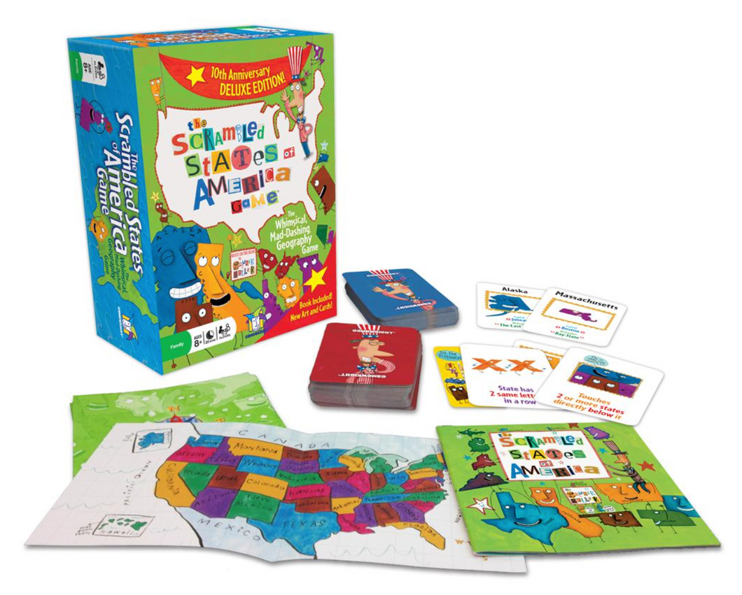 The Scrambled States of America Game - Gamewright