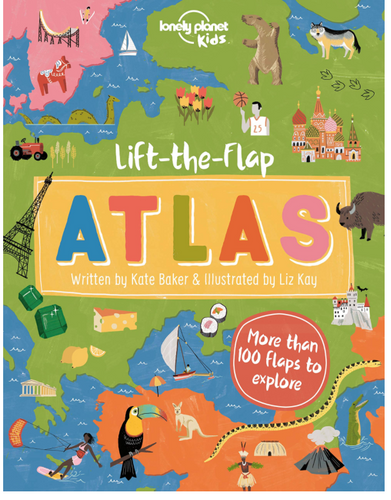 Lift the Flap Atlas Book