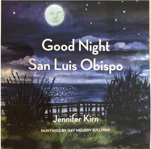 Good Night San Luis Obispo Book - Front Cover