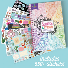 Craftastic All About Me Scratch and Sticker Journal - Ann Williams