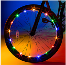 Wheel Multicolor Bike Lights - Brightz