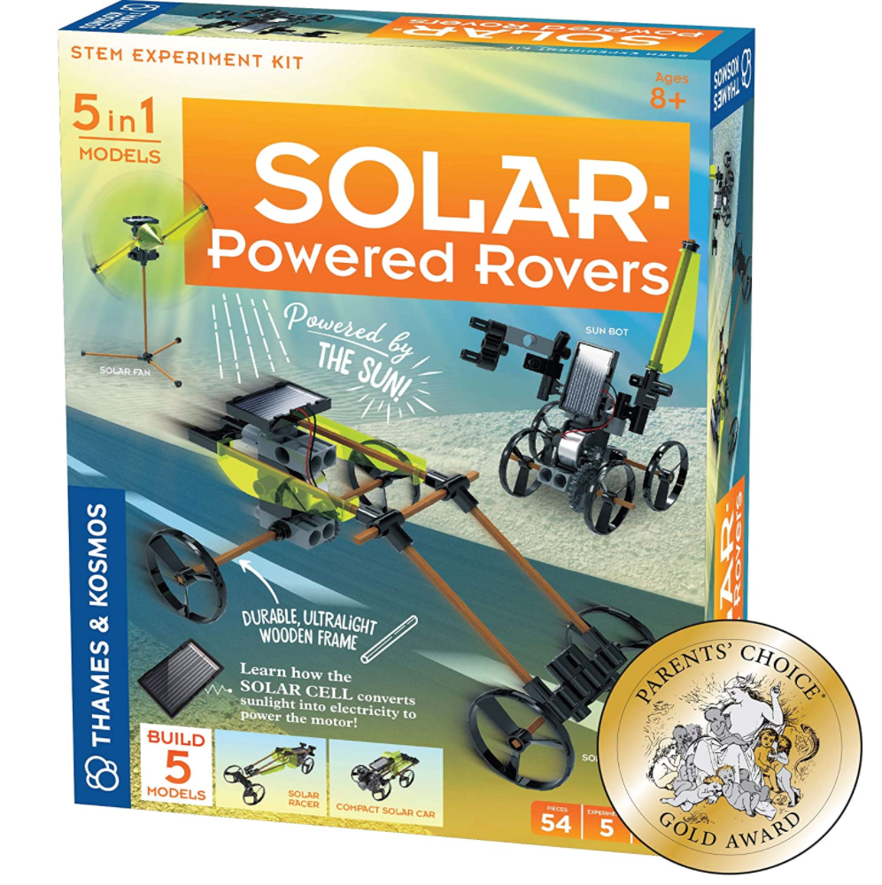 Solar Powered Rovers - Thames and Kosmos
