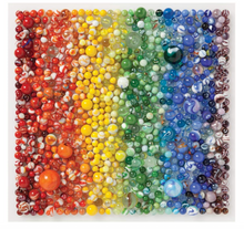 Rainbow Marbles (500 Piece Puzzle) - Galison