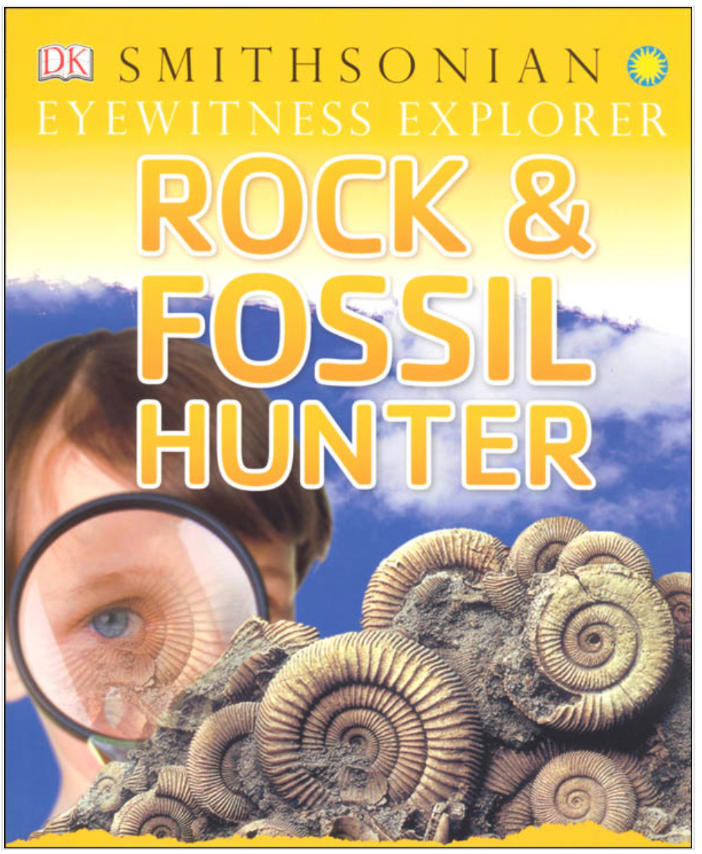 Rock and Fossil Hunter Book