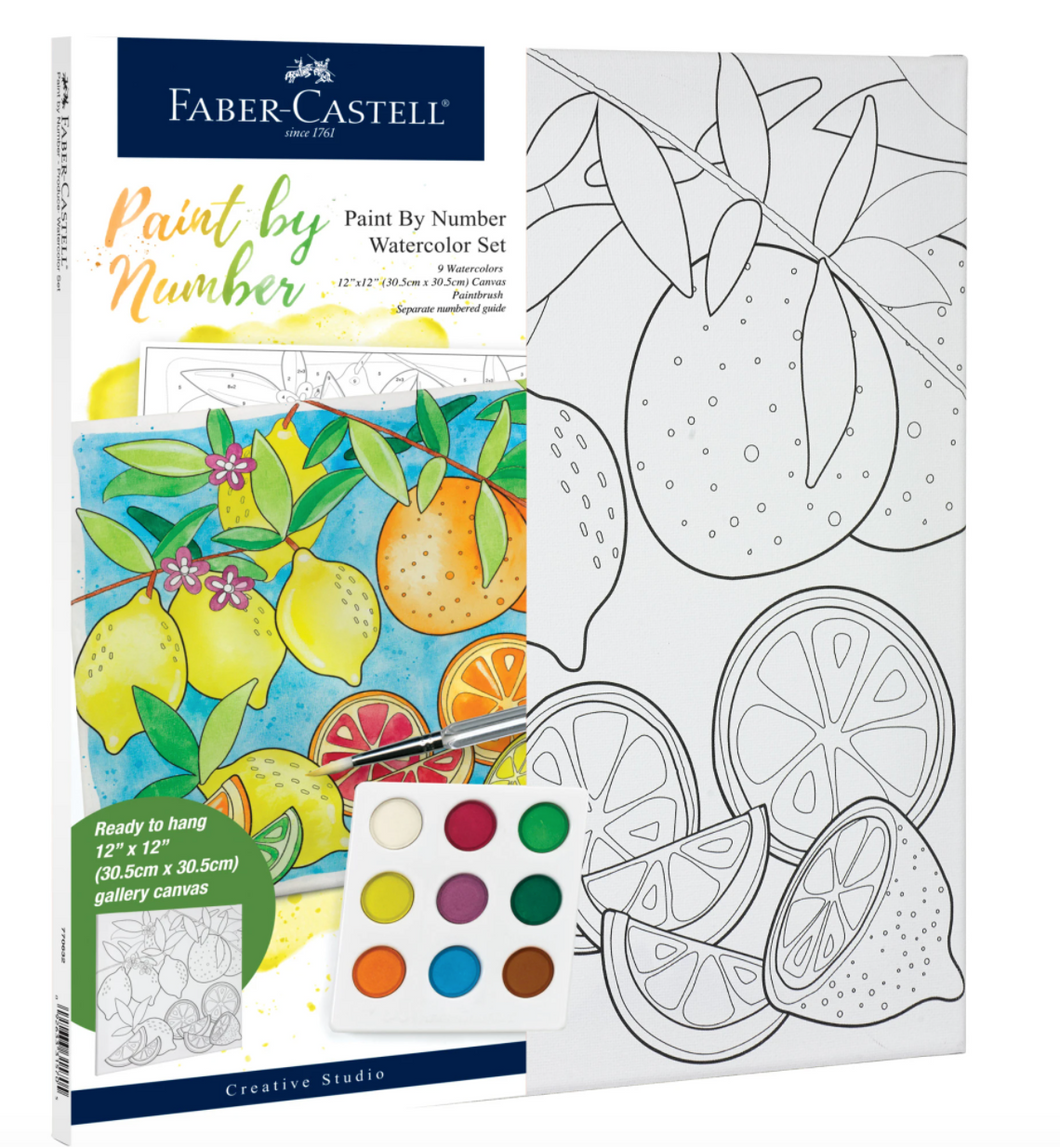 Faber‑Castell Paint by Number ‑Produce