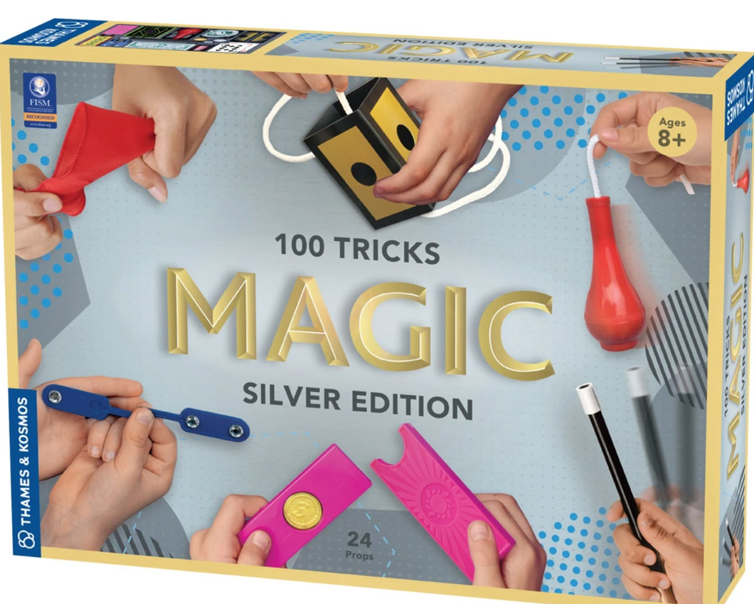 Thames & Kosmos 100 Tricks Magic Silver Edition