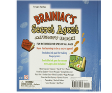 Brainiac's Secret Agent Activity Book: Fun Activities for Spies of All Ages