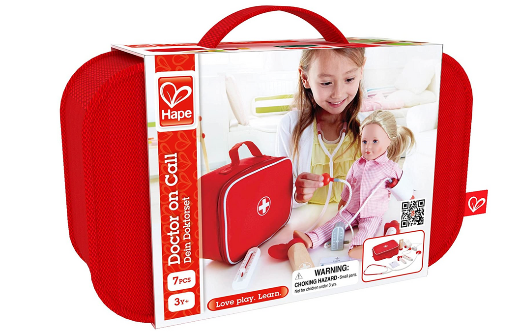 Hape Doctor on Call Wooden Play Set