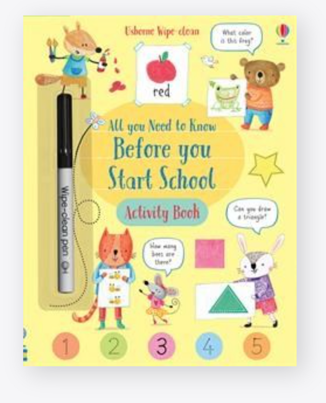 Everything You Need to Know before You Start School - Activity Book