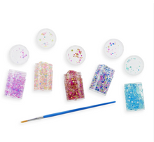 Mini dots pixie paste glitter glue - set of 5