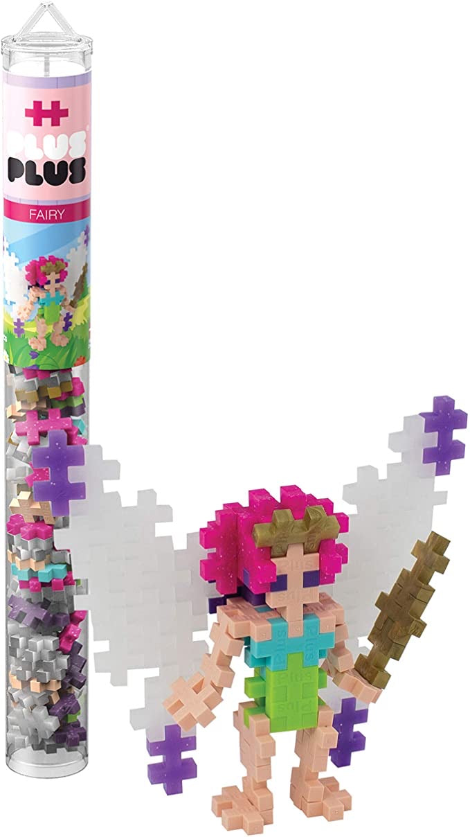 Plus-Plus Fairy Tube (70 pc)