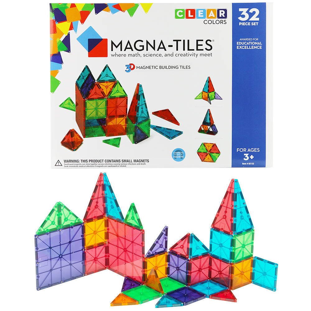 Magna-Tiles 32 pc set
