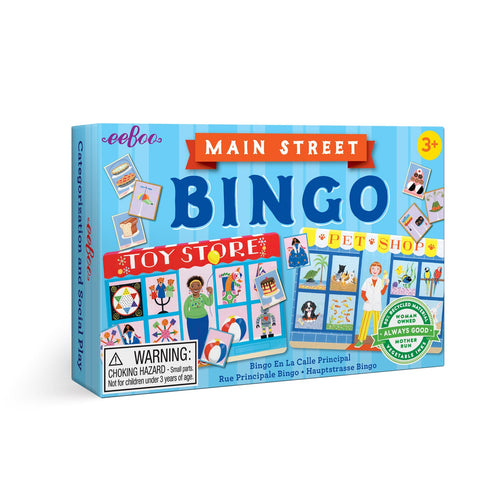 Main Street Bingo Preschool Game