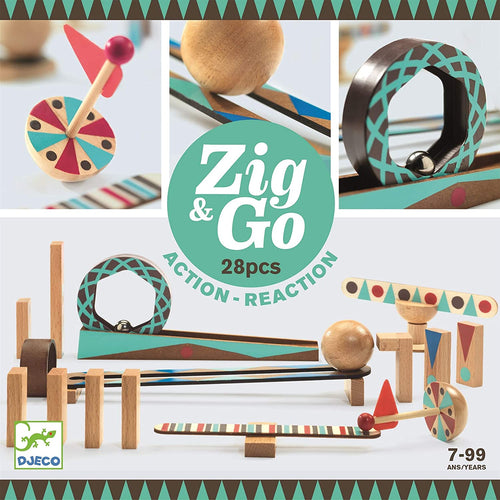 Zig & Go - Reaction Construction Set (28 piece)