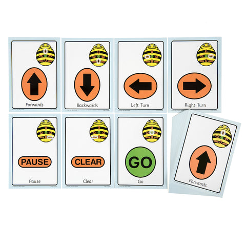 A5 sequence cards