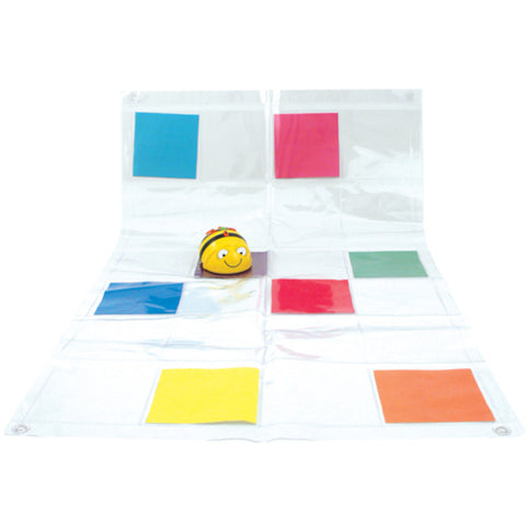 Bee-Bot® and Blue-Bot Transparent Pocket Mat
