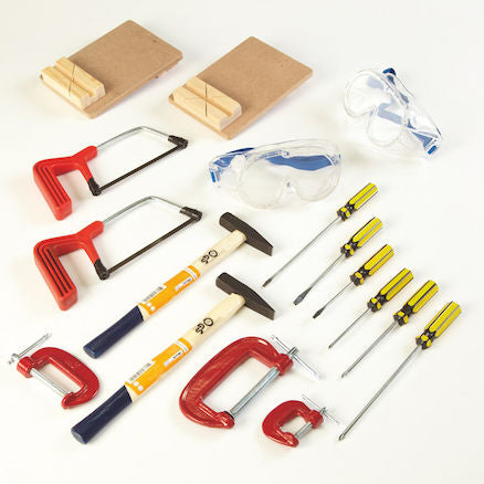 Busy Bench Builders Tool Kit 17pcs