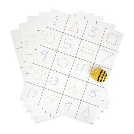 Blank Grid Mats (pack of 30)