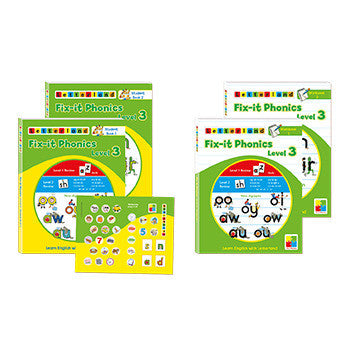 Level 3 Fix-It Phonics  Student set