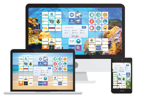 Symbaloo Pro for School (online workspace and learning path)