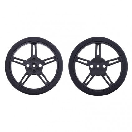 Wheel for FS90R  (360 degree servo motor) 60mm x 8mm