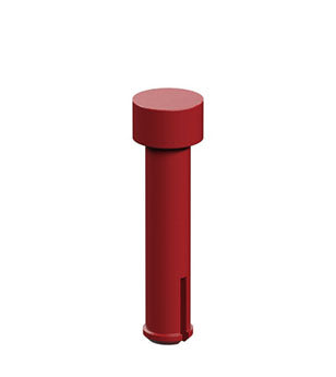 Clip axle 20, red