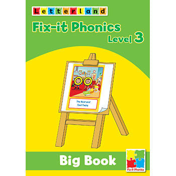 Level 3 Fix-it Phonics  - Big Book