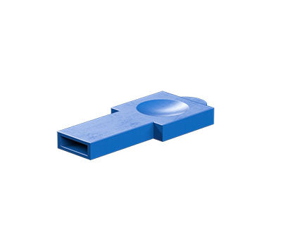 Rivet holder, blue
