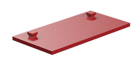 Mounting plate 30 x 60, red/ yellow/ green