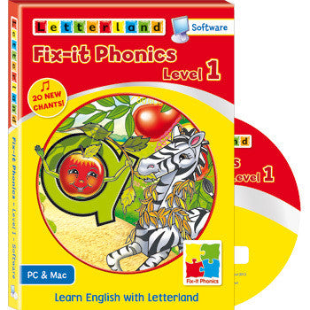 Level 1 Fix-it Phonics  - Software (CD-Rom)