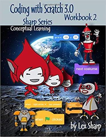 Coding with Scratch 3.0 workbook 2