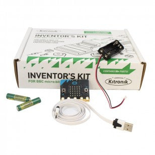 BBC micro:bit Starter Kit with Inventor's Kit