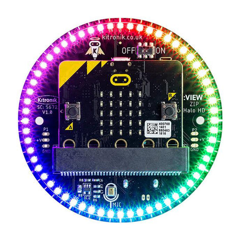 Kitronik ZIP Halo HD for the BBC micro:bit