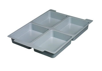 Gratnells 4 section tray insert