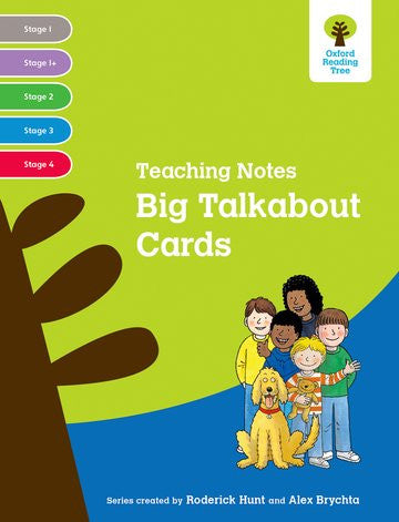 ORT Stage 1-4 Big Talkabout Cards Teaching Notes
