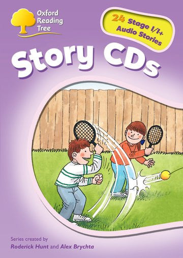ORT Stage 1+ Stories CD ( extended stories )