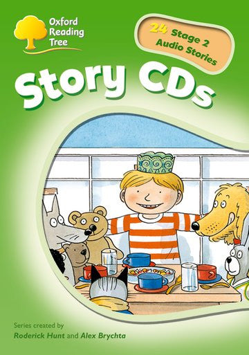 ORT Stage 2 Stories CD ( extended stories )