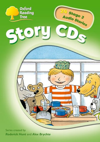 ORT Stage 2 Stories CD (extended stories)