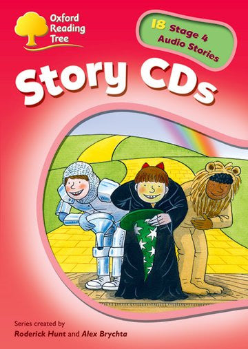 ORT Stage 4 Stories CD ( extended stories )