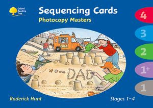 ORT Stage 1- 4: Sequencing Cards Photocopy Masters