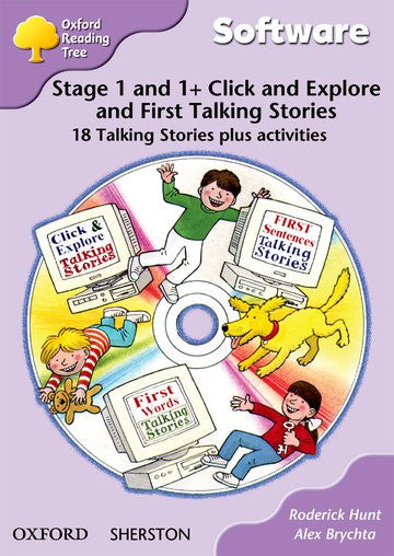 ORT Stage 1+ First Phonics Talking Stories CD-Rom (6 stories)