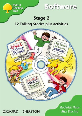ORT Stage 2 First Phonics Talking Stories CD-Rom (6 stories)