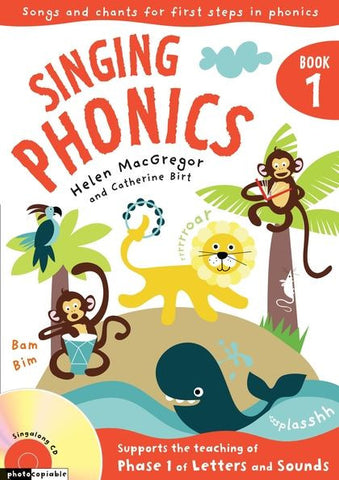 Singing Phonics Book 1
