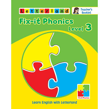 Level 3  Fix-it Phonics - Teacher's Booklet