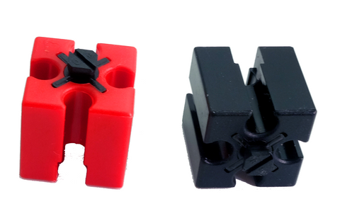 Building Block 15, red/ black