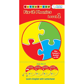 Level 1 Fix-It Phonics  Audio CD Pack